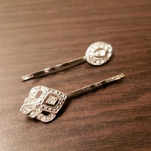 Chloe + Isabel Art Deco Hair Pin Duo